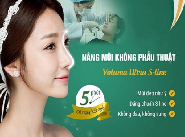 Nâng mũi bằng phương pháp không phẫu thuật Voluma Ultra Sline
