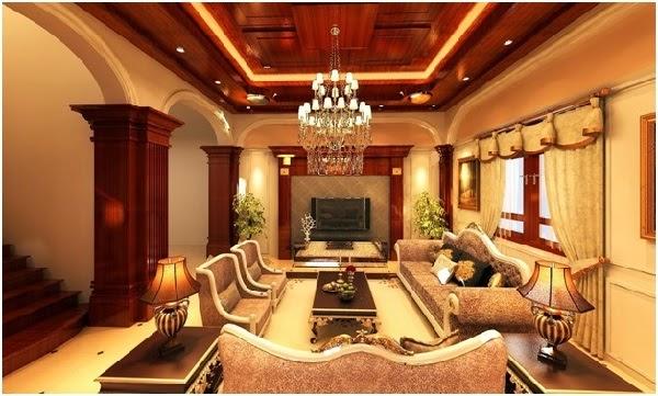 Sử dụng gỗ làm chủ đạo để trang trí phòng khách
